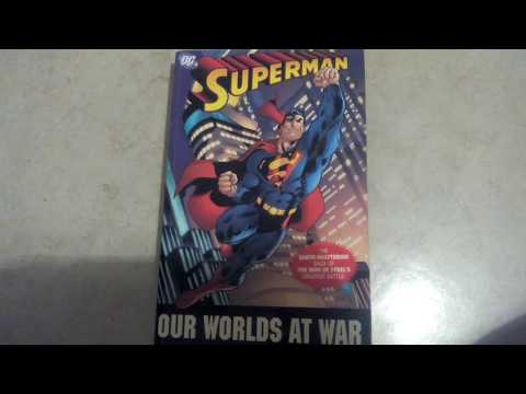Superman Our Worlds at War Comic Review Deutsch/GERMAN