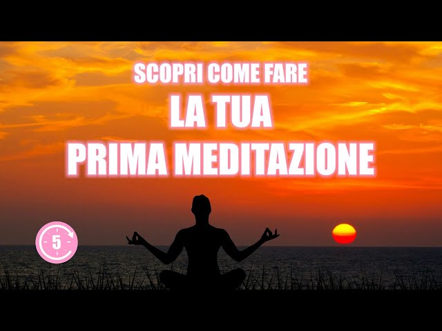 La tua prima meditazione - Voce Femminile