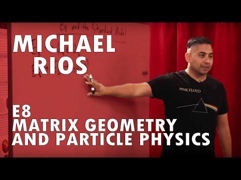 E8, Matrix Geometry and Particle Physics