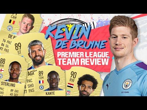 KEVIN DE BRUYNE RATES THE FIFA 20 PREMIER LEAGUE XI
