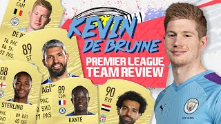KEVIN DE BRUYNE RATES THE FIFA 20 PREMIER LEAGUE XI