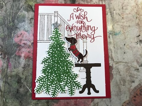 Ready For Christmas Stampin Up Series Card 1 YouTube