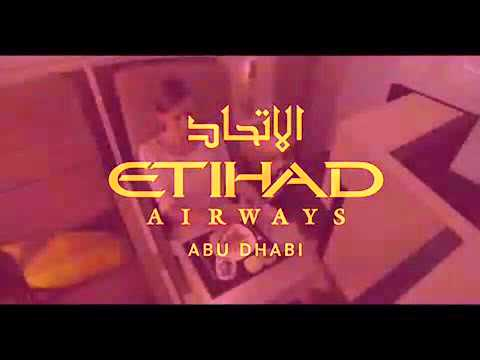 Etihad airways inflight boarding music