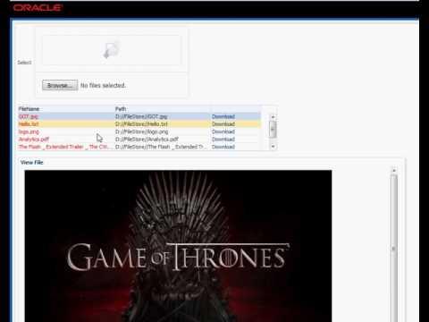 Multiple File Uploading in Oracle ADF