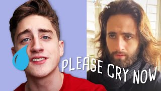 "Getting Deep With The ""Saddest� Videos On Tik Tok (Re-Up..."