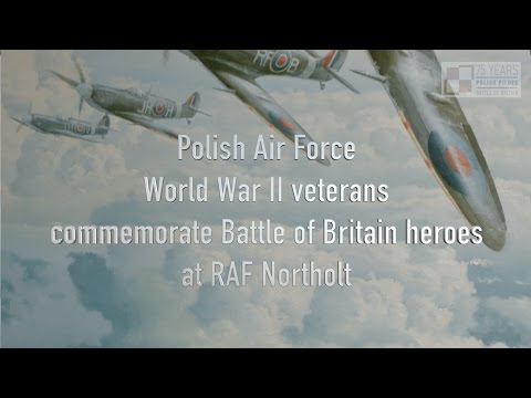 #BoBPoles: Polish veterans at RAF Northolt