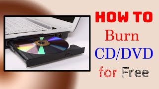 How to BURN a CD/DVD in Windows 10/8/7 ✅ Free Download - Wondershare DVD Creator