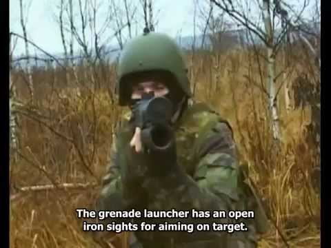 GM 94 - Russian Hand held Grenade Launcher (Eng subs)