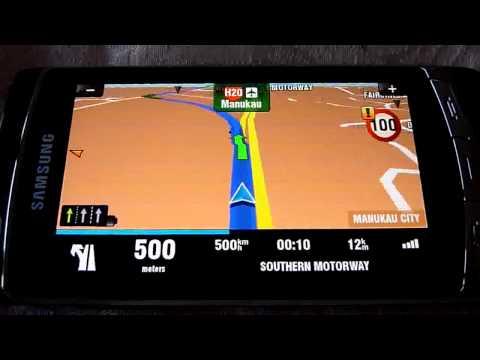 Sygic GPS Samsung i8910 Omnia HD Test (Samsungi8910omnia.com)
