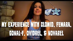 My experience with Clomid, Femara, Gonal F, Ovidrel, Novarel - IUI Medication Review
