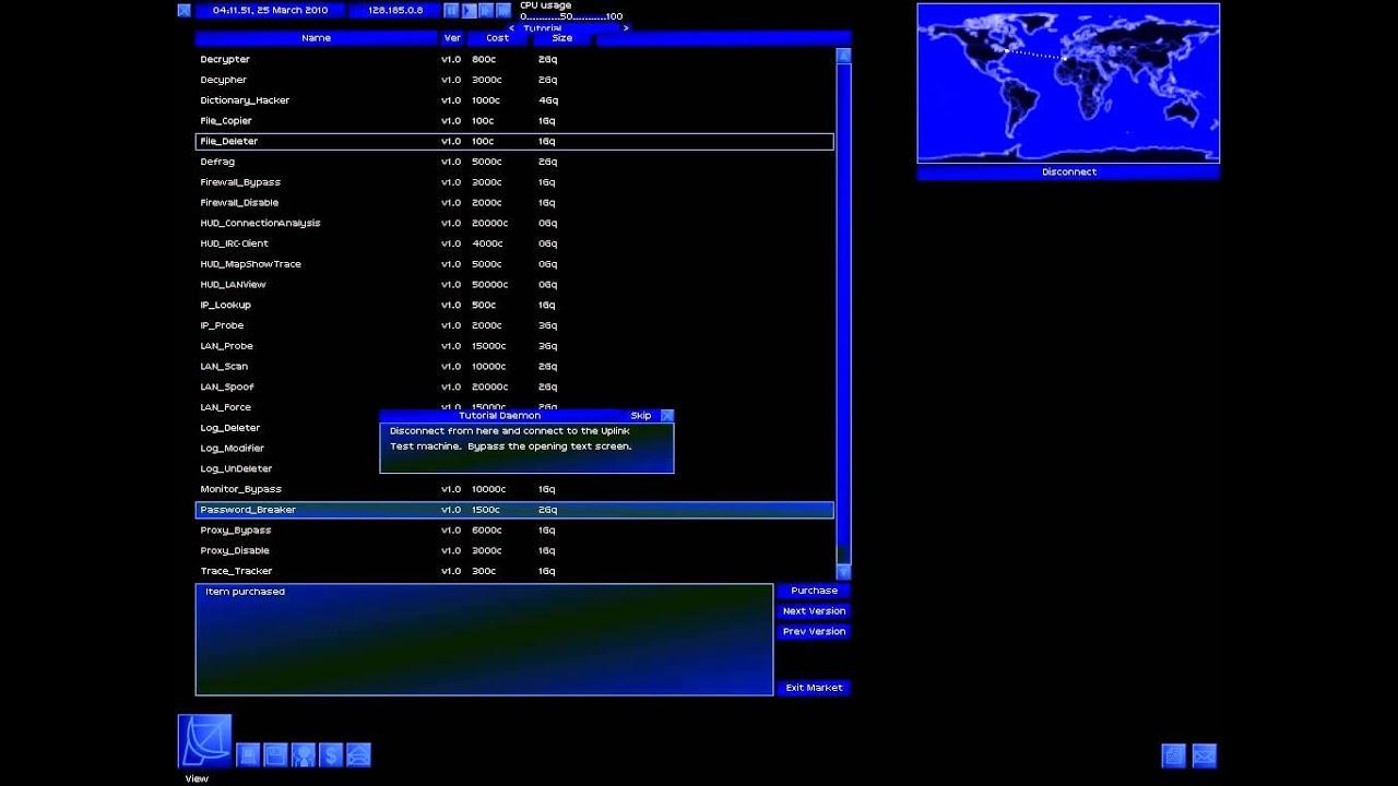 uplink hacker