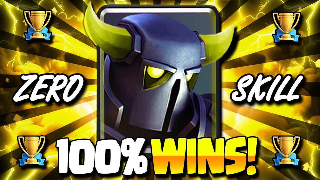 The New EASIEST Pekka Deck in Clash Royale HISTORY!! 100% WIN RATE!!