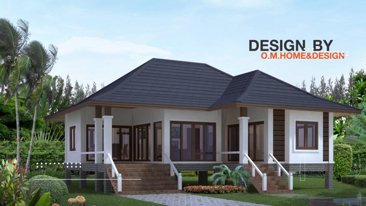 แบบบ านสวยช นเด ยว Ar18 Ar93design ขายแบบบ านสำเร จร ป แบบบ านสวย ร บออกแบบบ าน โดยสถาปน ก แบบบ านช นเด ยว ร ปแบบบ าน ออกแบบบ าน