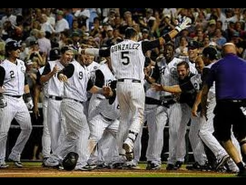 Every Colorado Rockies Walk-Off Win Since 2009