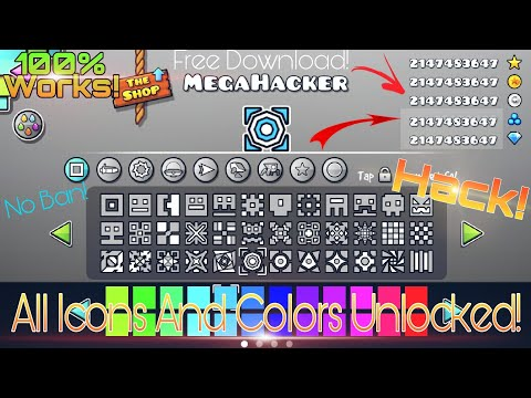 Geometry Dash Unlimited Orbs, Diamonds & Unlock All Icons (No Root) | Geometry Dash Hack [2.11]