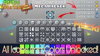 Geometry Dash Unlimited Orbs Diamonds Unlock All Icons No Root Geometry Dash Hack 2 11 Youtube