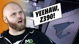Гігабайт Z390 два майстер без коробки 9й плати Intel покоління