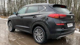 Взял Hyundai Tucson 2.4 вместо турбо, в чем Rock Edition?