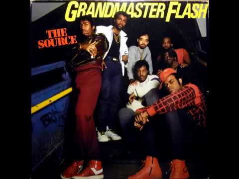Grandmaster Flash - The Source (1986 / Old School Hip Hop / Cut Up / Concious / Full Album)