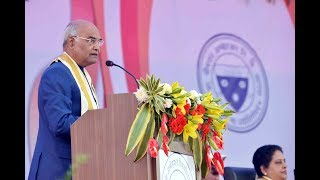 President Kovind addresses 83rd convocation of Dr Bhimrao Ambedkar University