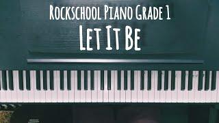 Rockschool Piano Grade 1 - Let It Be