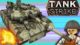 TANK STRIKE#8 Новый онлайн мультик Война танков много оружия новых танков Видео для детей.
