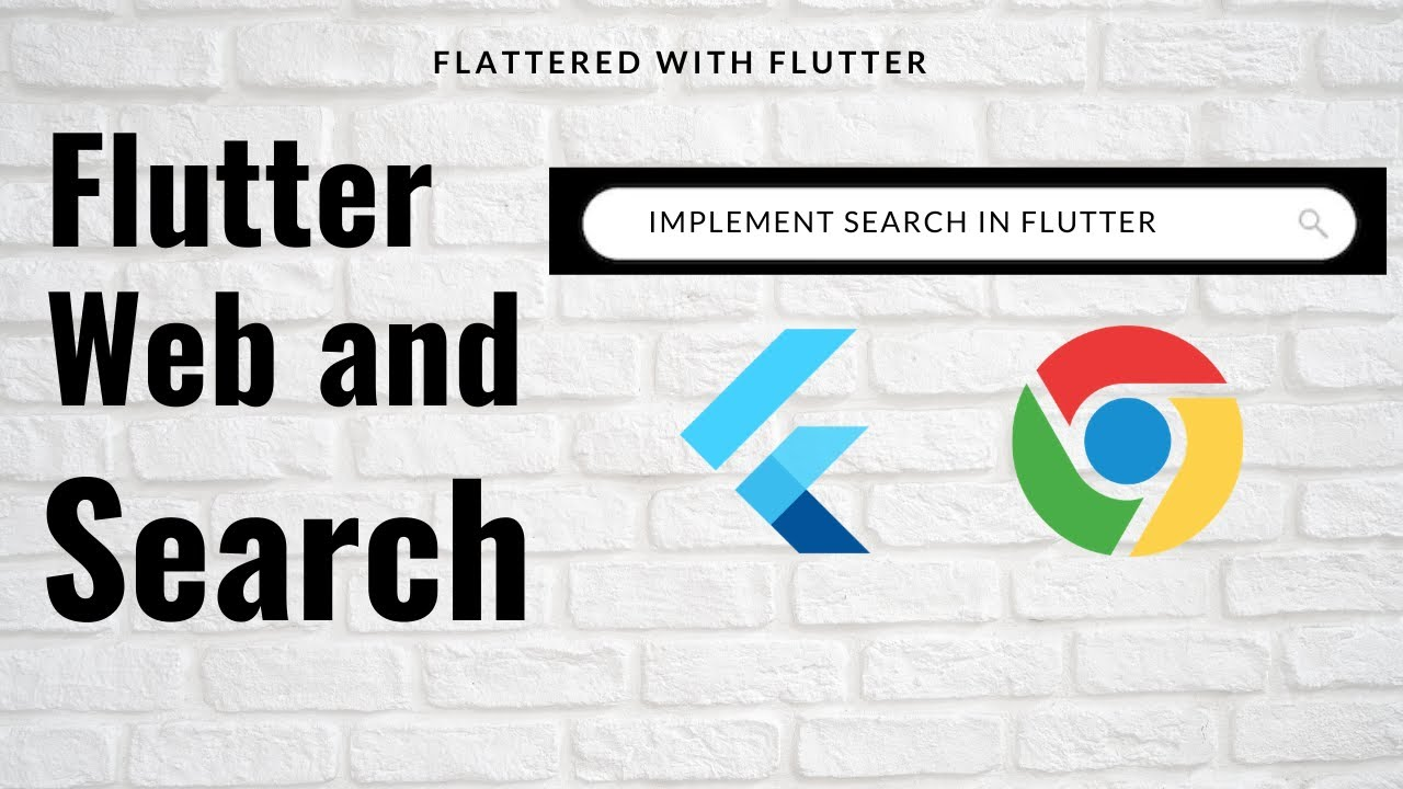Flutter Web and Search | Implement search in Flutter Web