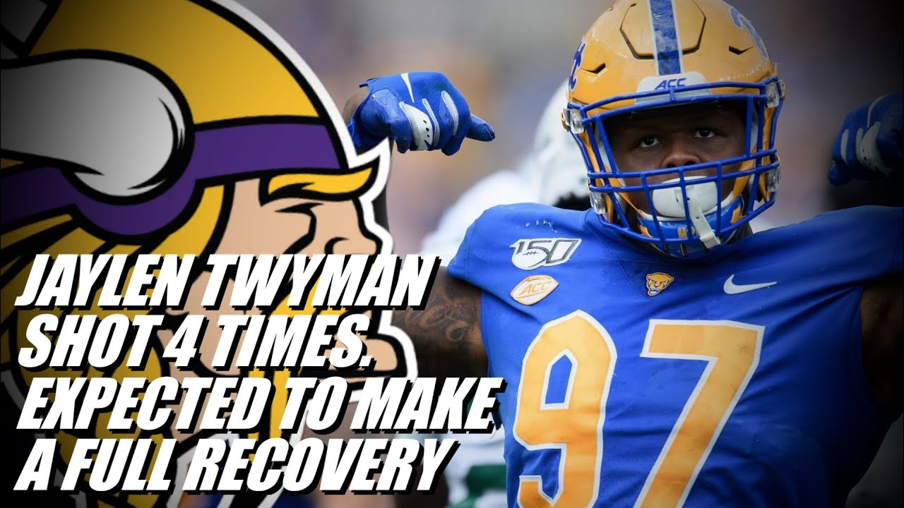 Vikings rookie Jaylen Twyman shot four times, expected to make full ...