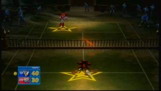 Shadow VS Reala - SEGA Superstars Tennis *Xbox 360*