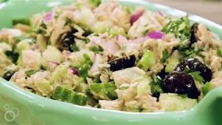 No Mayo Mediterranean Tuna Salad | The Mediterranean Dish