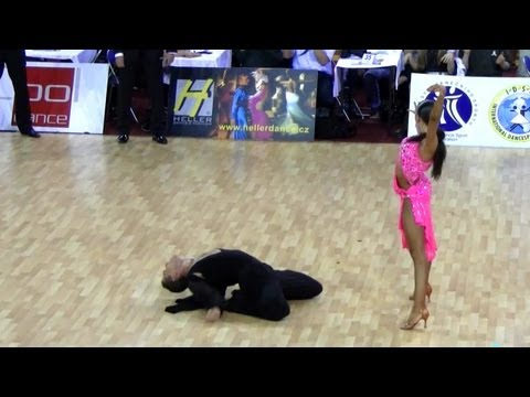Timur Imametdinov - Ekaterina Nikolaeva, Prague Open 2011, WDSF Int. open latin, final - jive