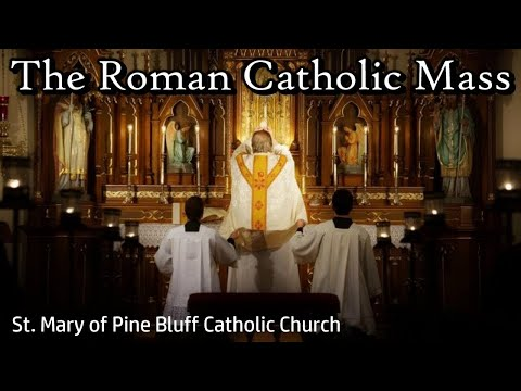 The Roman Catholic Mass from St. Mary of Pine Bluff | Sat, Apr. 10, 2021