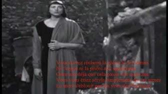 Monique Morelli - L'affiche rouge (Aragon, Ferré) - TV 1961