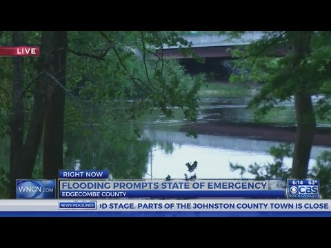Flooding prompts state of emergency in Edgecombe County
