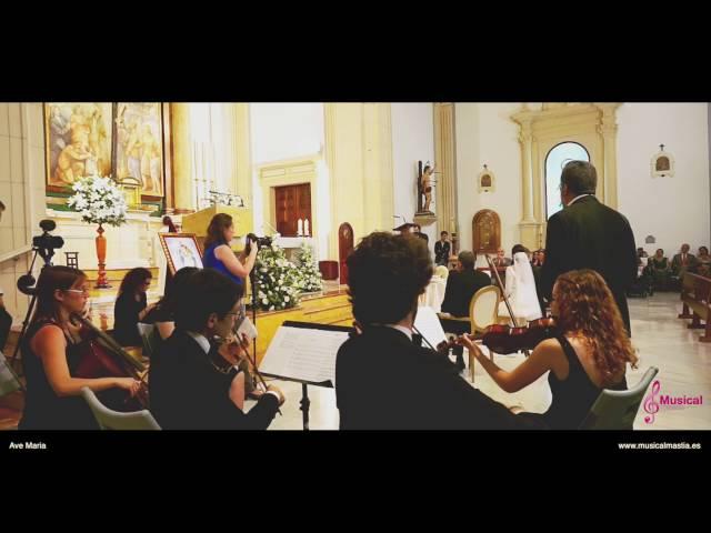 Boda de Andrés y Lidia - Ave Maria Schubert - Iglesia San Sebastián - Almeria