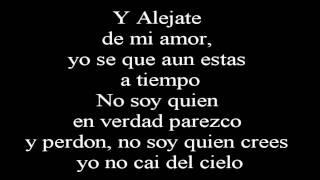 Camila - Alejate de mi ~Lyrics - Letra~