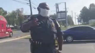 Crazy: Man Jumps Out And OWNS Cops Like A PRO!!!