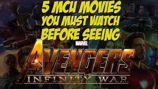 5 MCU movies you MUST watch before seeing Avengers: Infinity War!