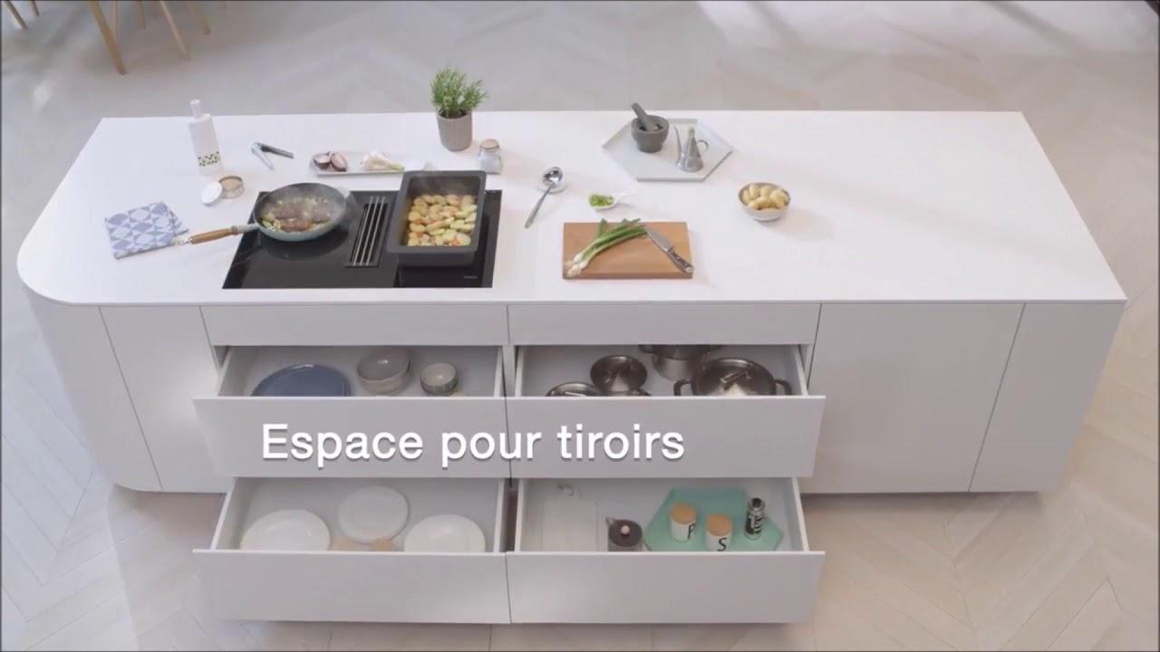 kui002 inter faces la table de cuisson miele avec hotte. Black Bedroom Furniture Sets. Home Design Ideas