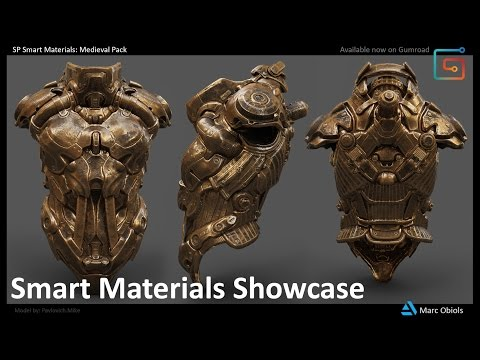 SP Smart Materials: Medieval Pack - Showcase