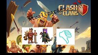 Sobre Ultimas Atualizações:Clash Of Clans