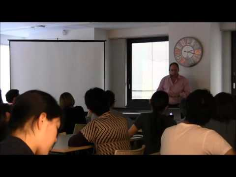 Swiss Hotel Management School Lecture in Osaka
