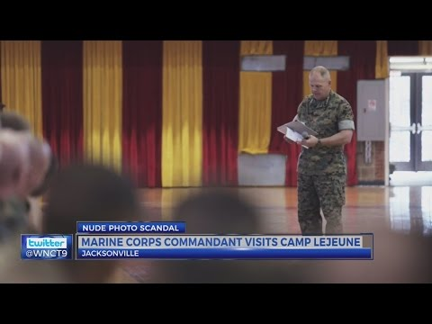 Nation's top Marine speaks at Camp Lejeune, New River