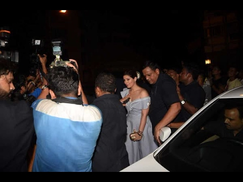 In Graphics: Akshay Kumar attends Karan Johar's 45th birthday celebration with his wife Tw