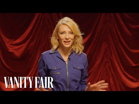 Cate Blanchett's Secret Talent Looks Painful | Secret Talent Theatre | Vanity Fair