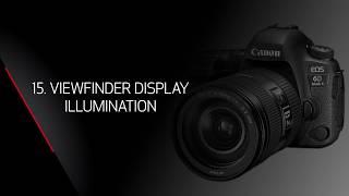 Canon EOS 6 D Mark II Dersler: AF Özel Fonksiyonlar: Vizör Görüntü