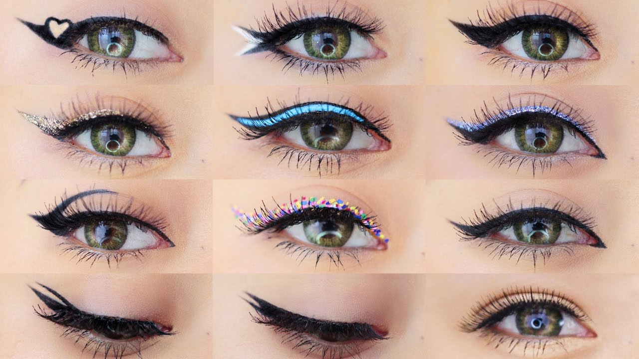 how to put on eyeliner
