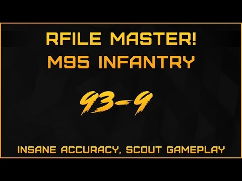 BF1: Rifle master! - 93-9 M95 infantry on Verdun heights - Scout gameplay