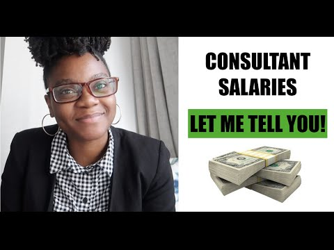 HOW MUCH DO CONSULTANTS MAKE?| BIG 3 AND BIG 4 CONSULTING SALARIES