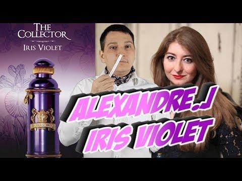 Alexandre.J Iris Violet